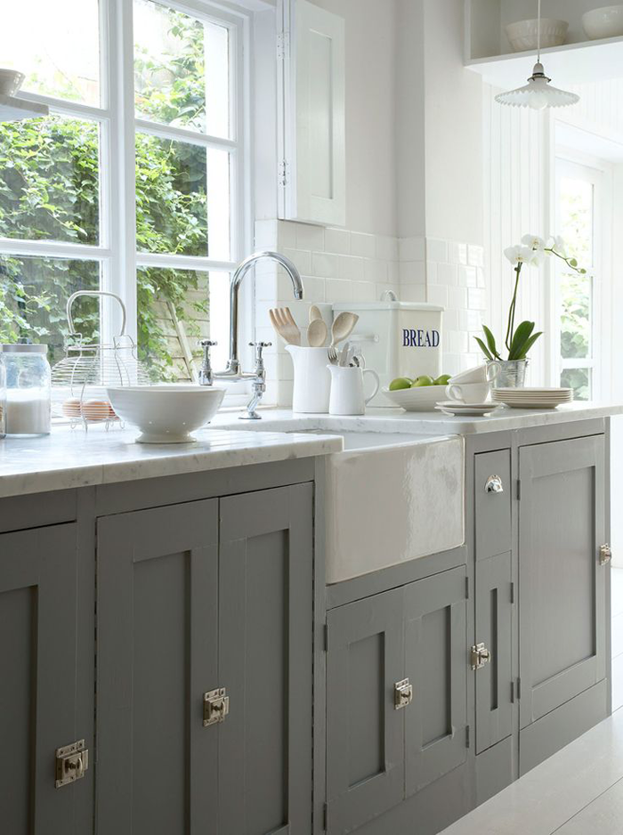 Lusting After Grey And White Kitchens The Green Eyed Girl