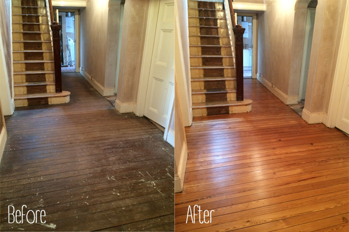Sanding Wood Floors That Have Been Painted