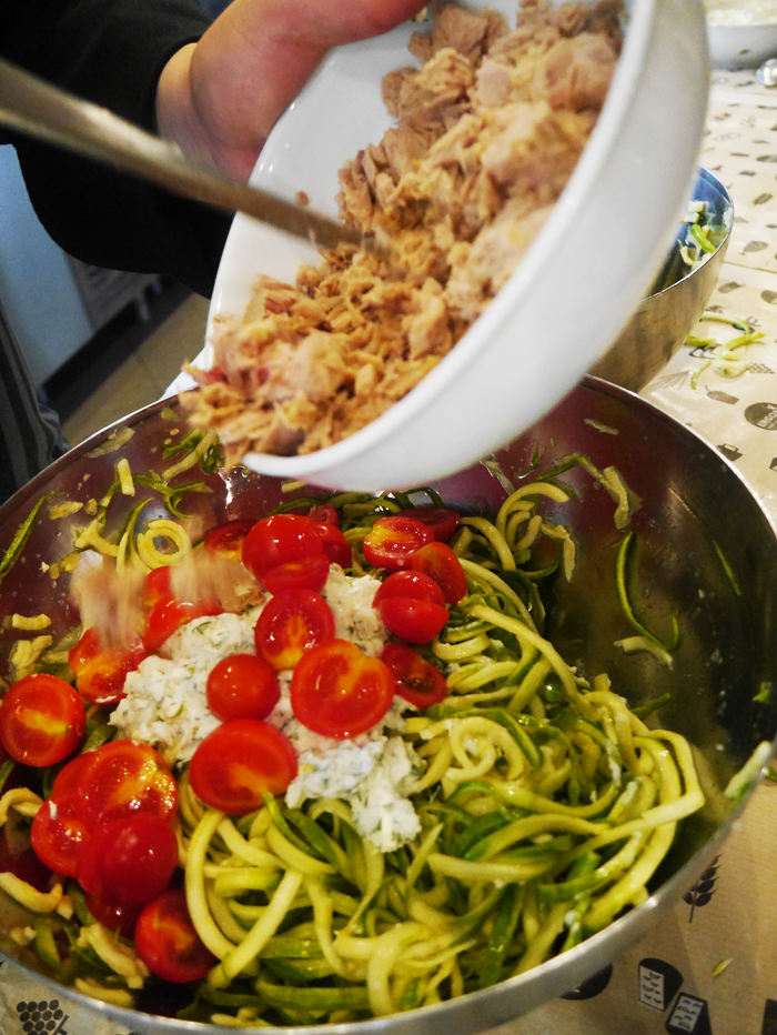 courgetti recipe