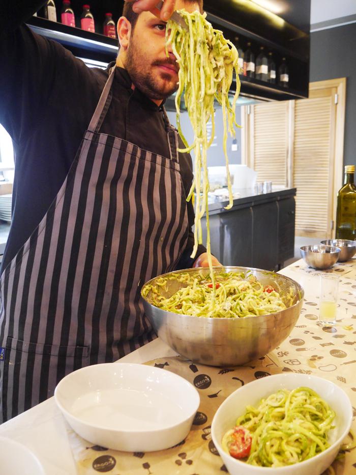 Zuchinni pasta recipe