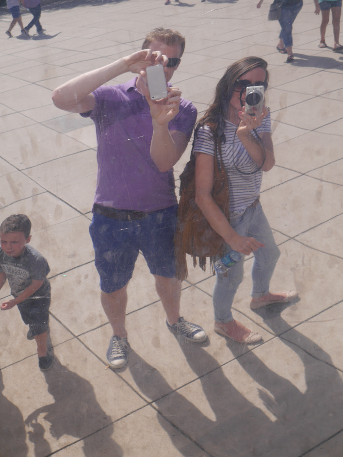 Reflections in The Bean, Chicago