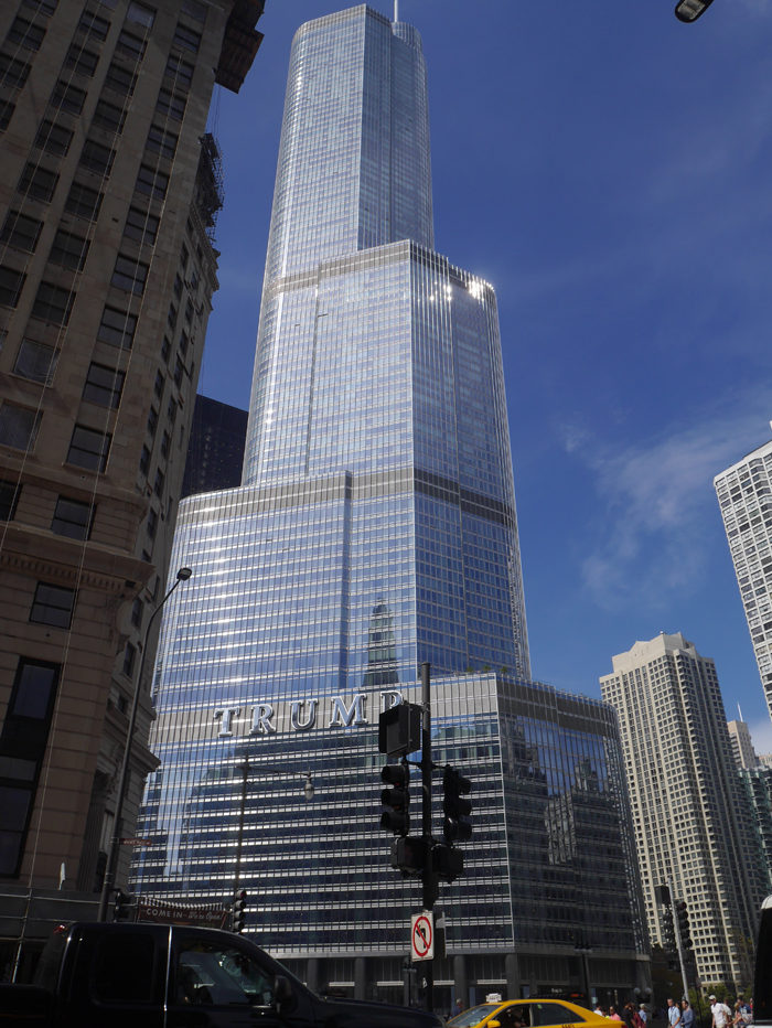 The Trump tower, Chicago