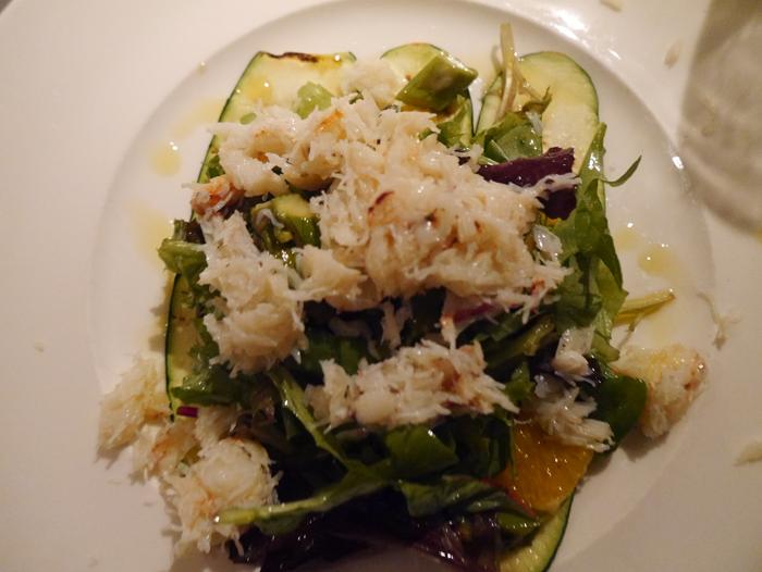 Crab salad in Chicago