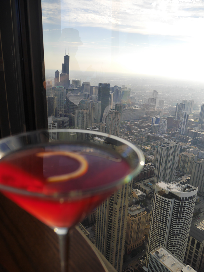 Bar in the John Hancock Skyscraper