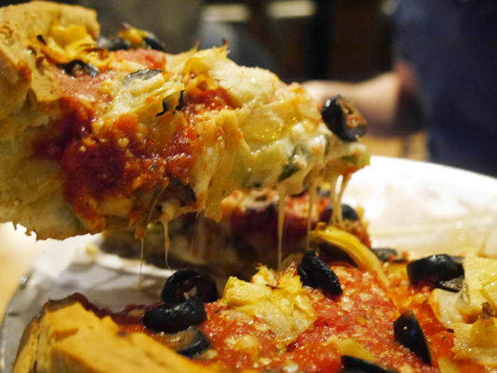The best stuffed pizza in Chicago