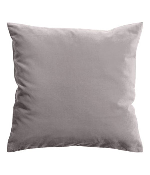 Light-grey-velevt-cushion