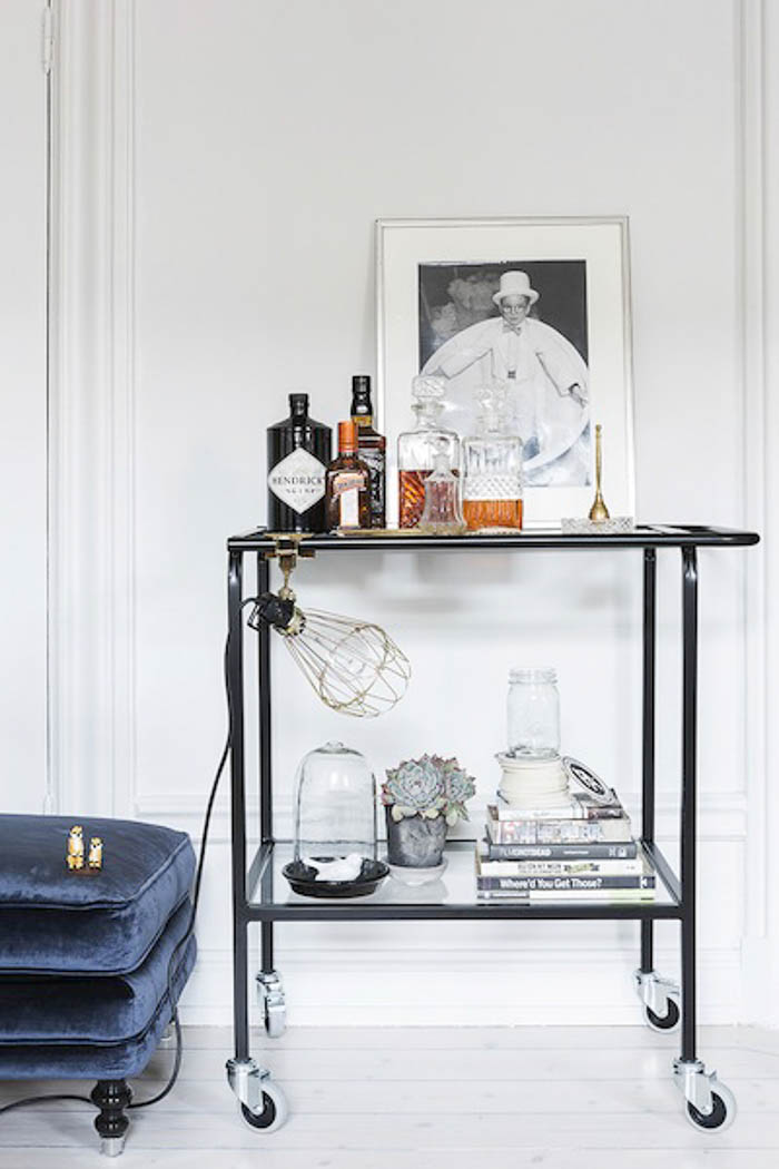 Home Inspiration: Home Inspiration: Drinks Trolleys