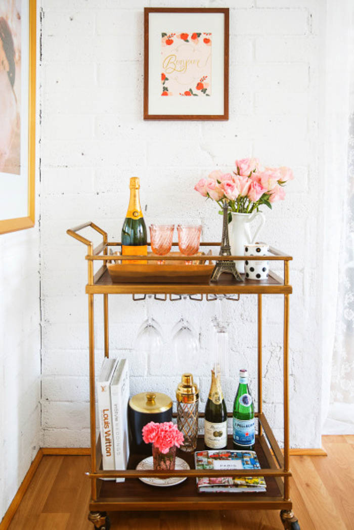 Home Inspiration Drinks Trolleys The Green Eyed Girl