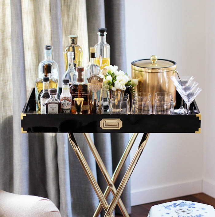 Home inspiration: drinks trolleys