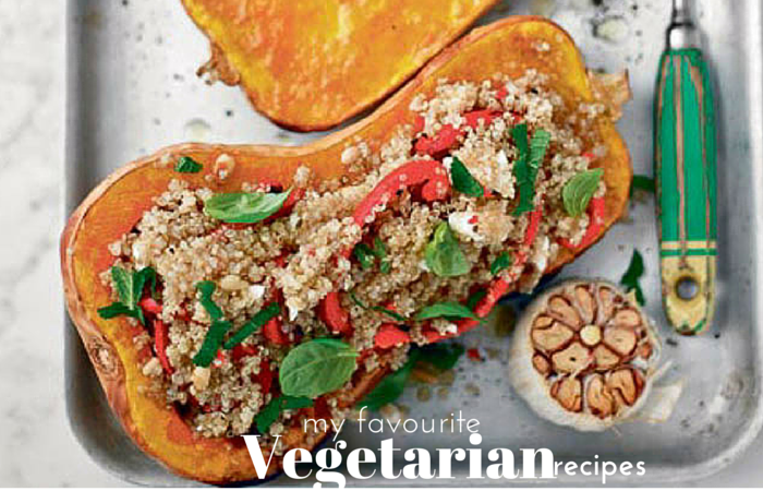 My favourite vegetarian recipes