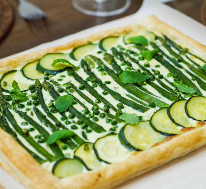 Meal inspiration: Summer vegetable tart