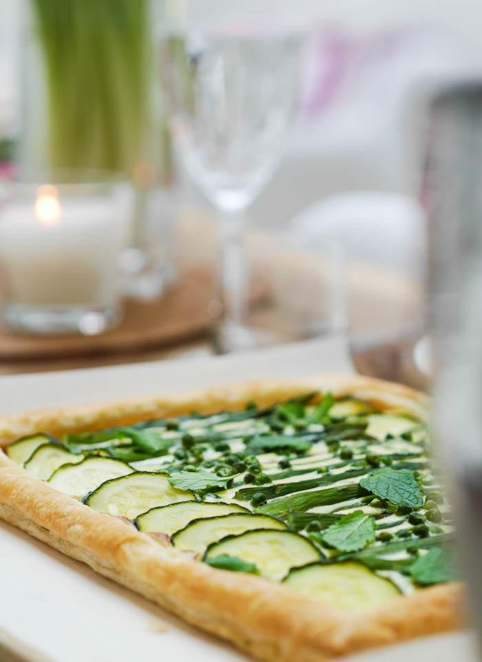 Summer vegetable tart-13