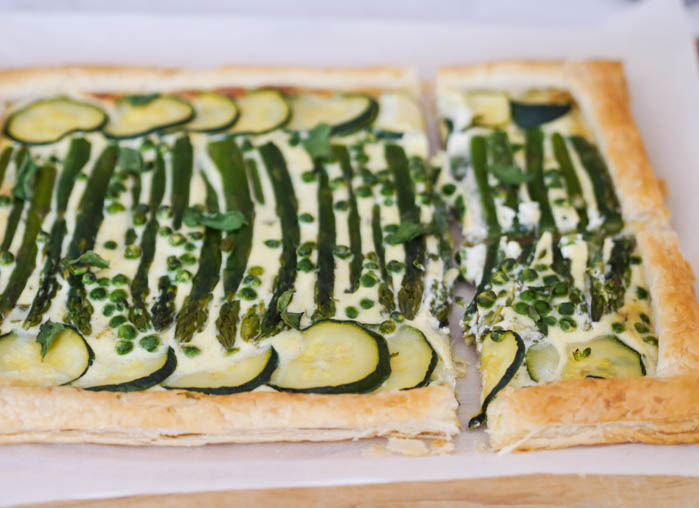 Summer vegetable tart-21