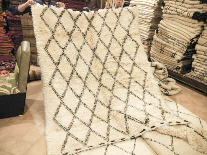 Tips For Buying A Beni Ourain Rug In Morocco The Green