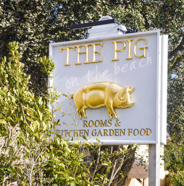 Staying at The Pig on the Beach