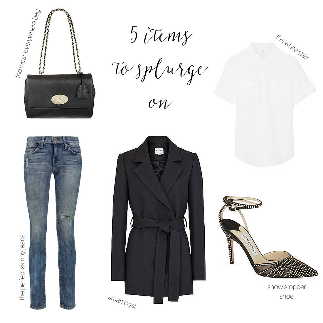 5 style items to splurge on