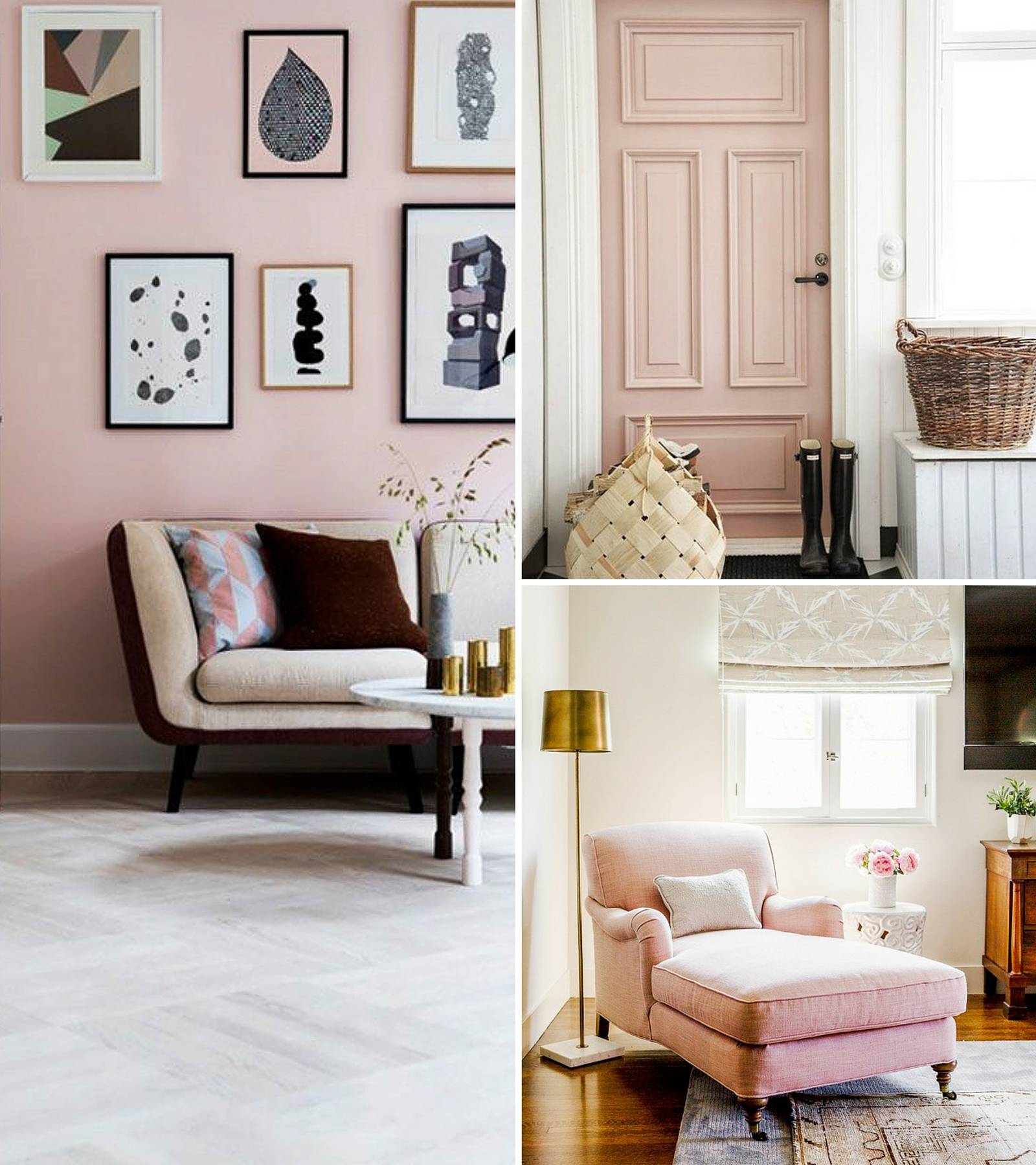 Decorating With Pink Unique Home Inspiration Decorating With Blush Pink  The Green Eyed Girl Design Ideas