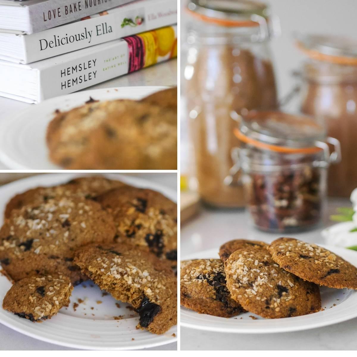 sugar free baking collage 1