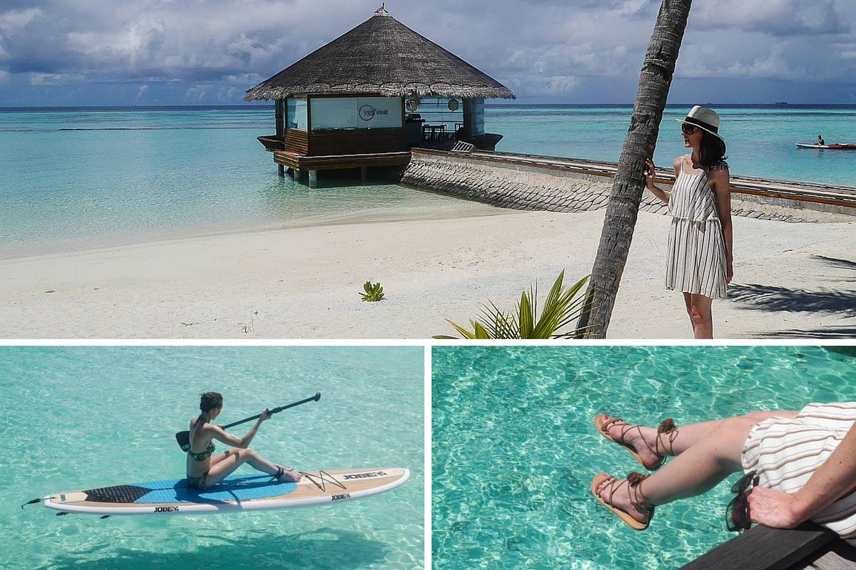 simple island style in the Maldives 2