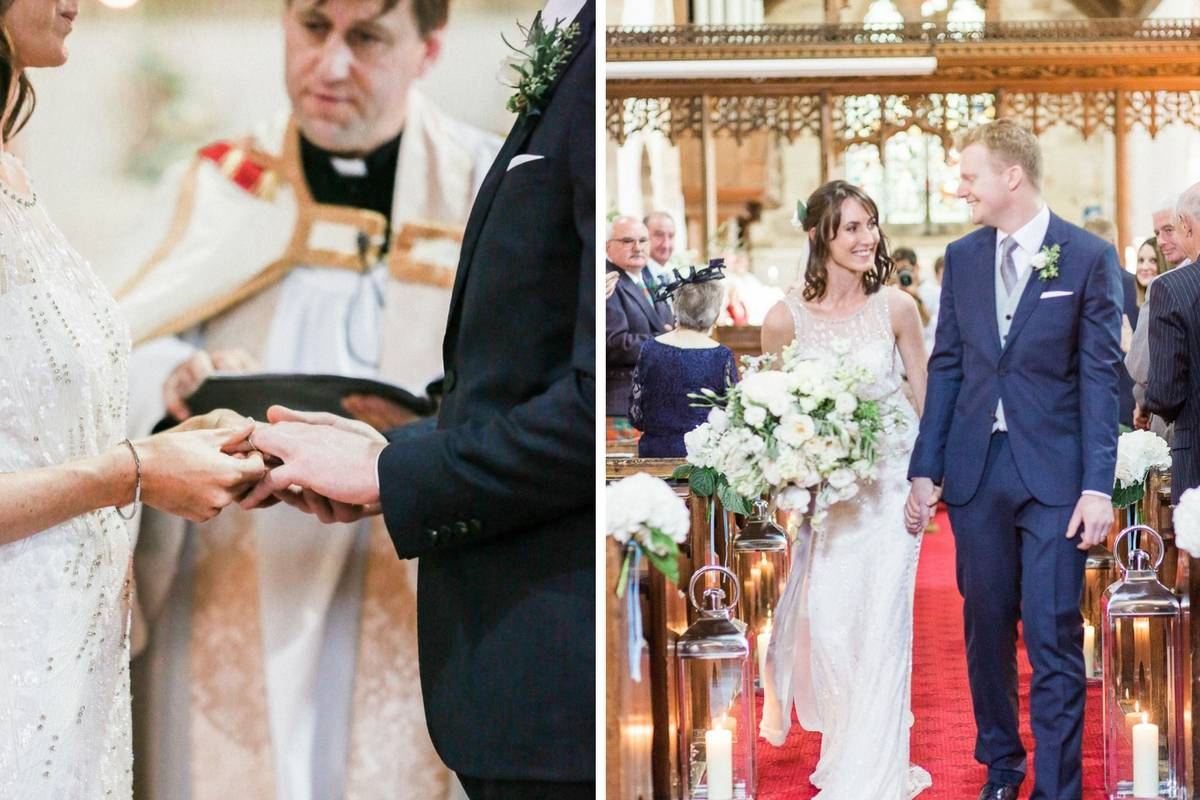 Lifestyle blogger Claire Wainwright of The Green Eyed Girl shares her wedding 11