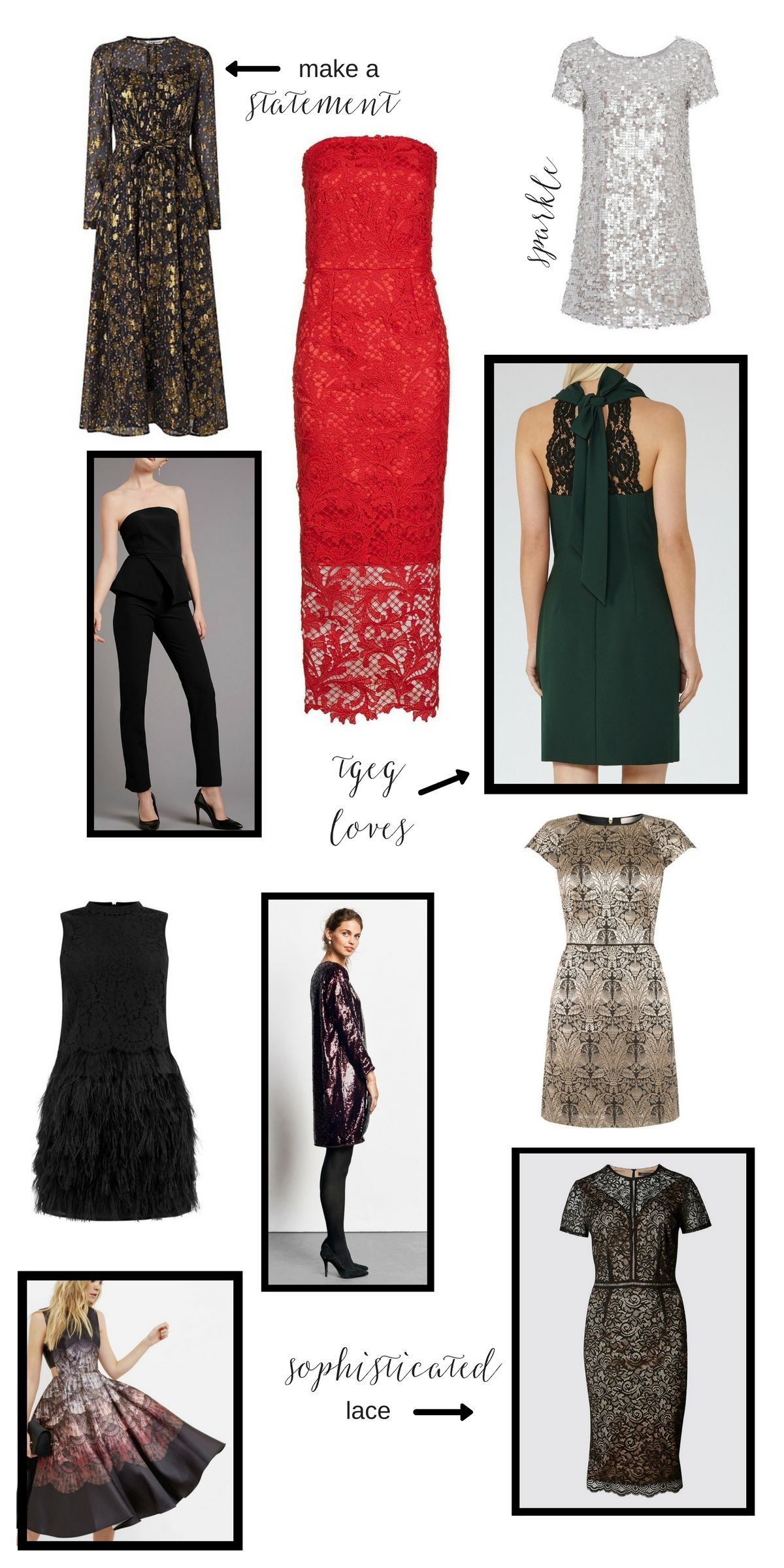 10 party dresses for the festive season