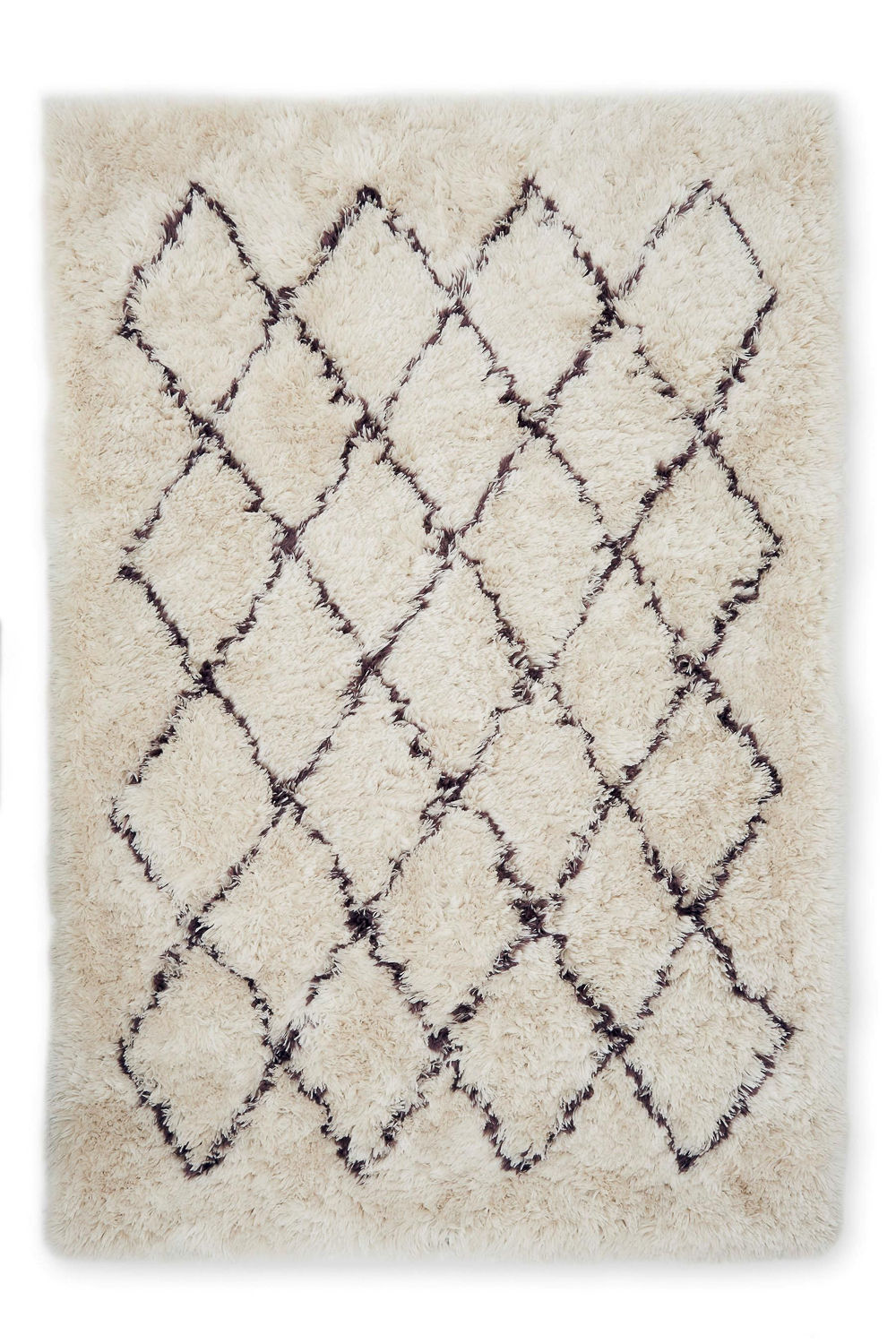 Soft Diagonal Berber Rug From Next