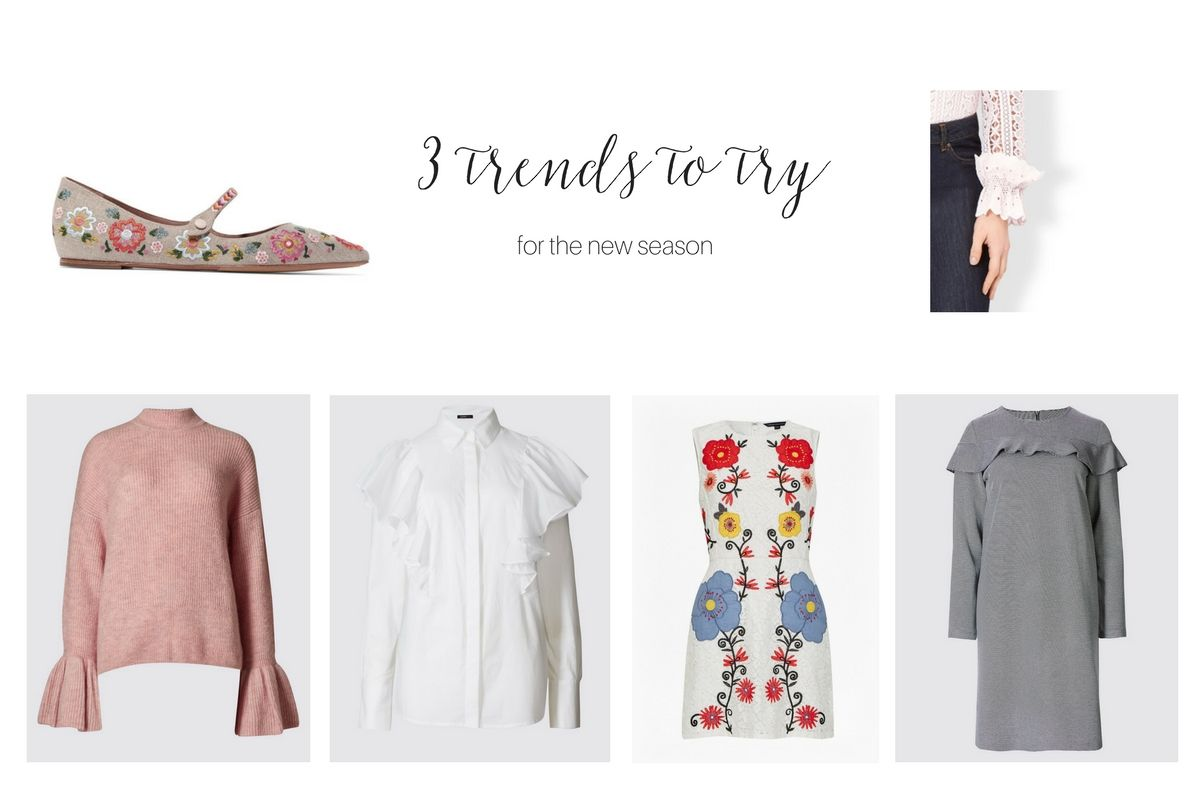 3 trends to try this season