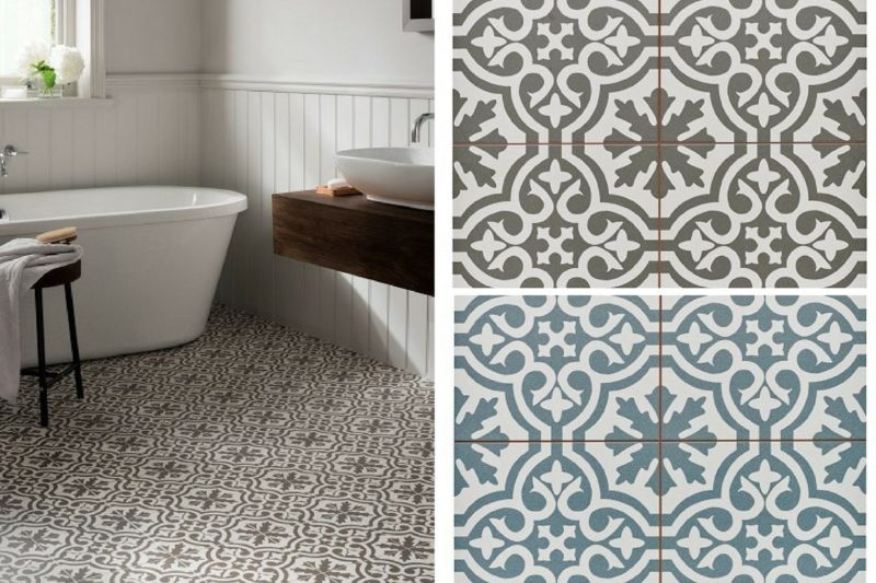 Five Of The Best Patterned Floor Tiles For Home
