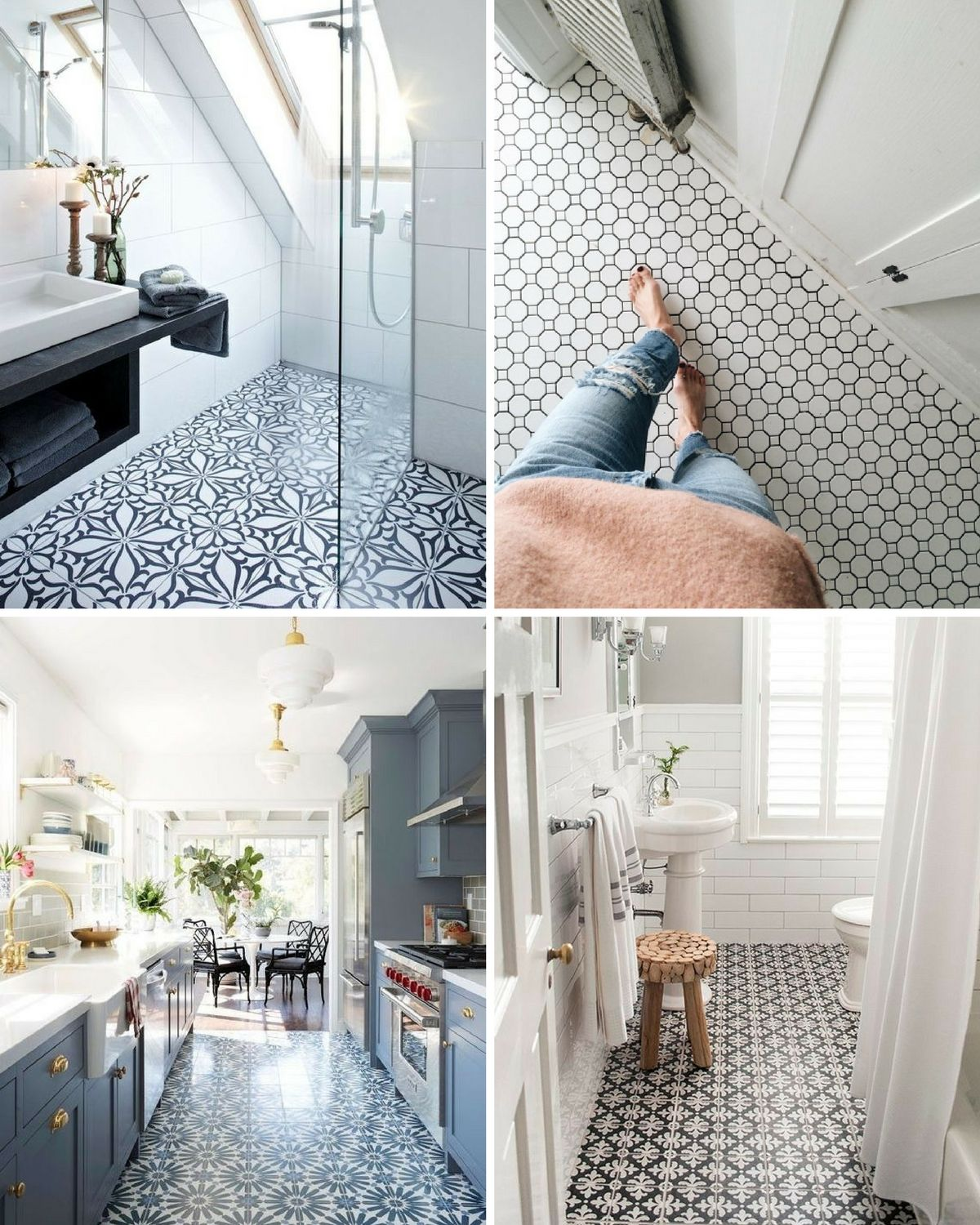 Five of the best patterned floor tiles for the home 5 of the best patterned floor tiles dailygadgetfo Image collections