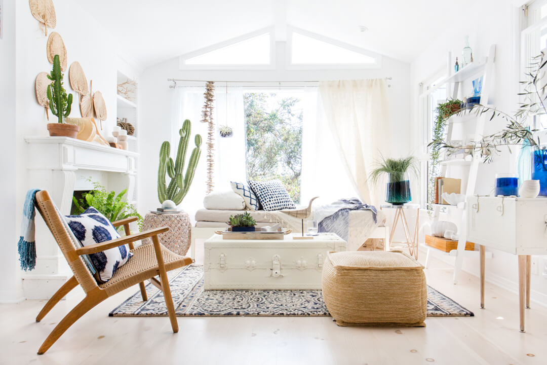 Californian cool interiors for Cool interior design blogs