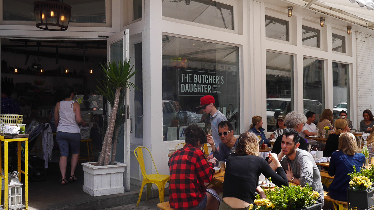 New York travel guide - The Butcher's Daughter