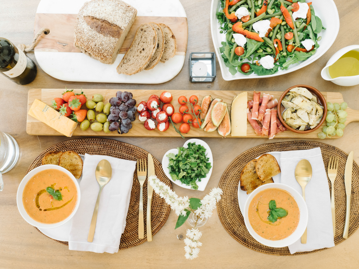 Creating the perfect lunch or dinner party
