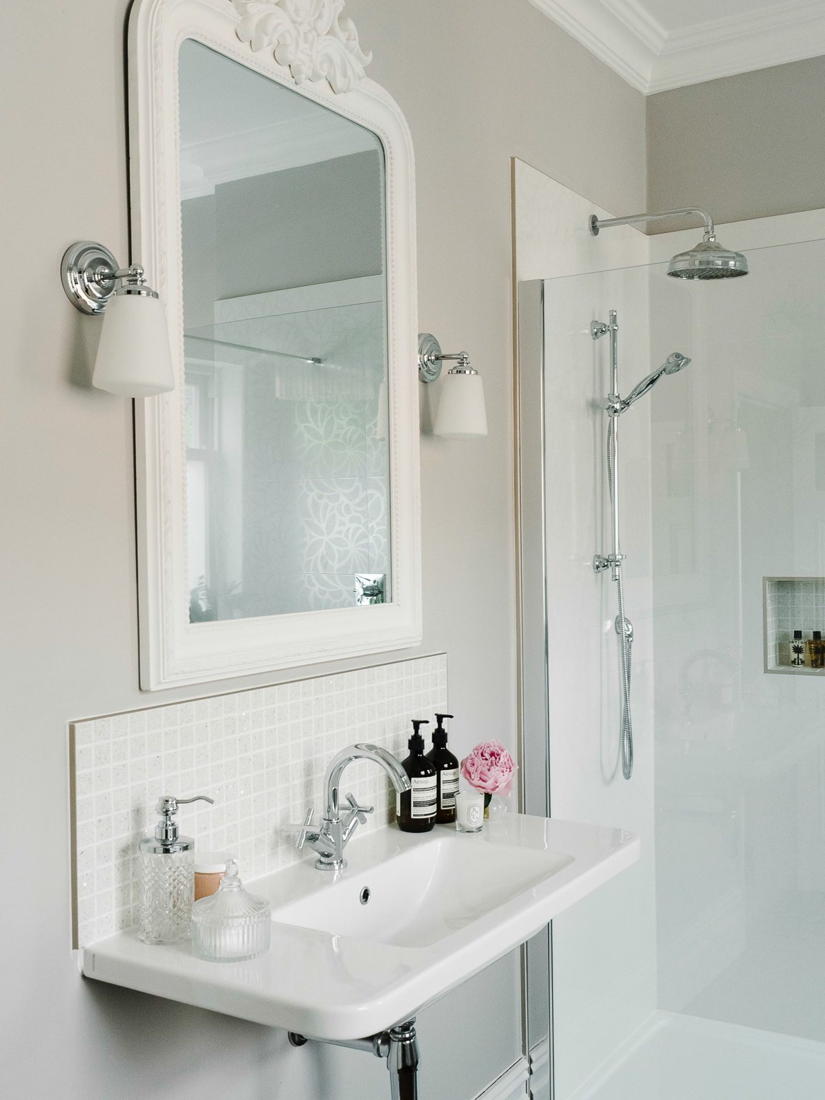How to achieve the hotel bathroom look in your own home - walk in shower