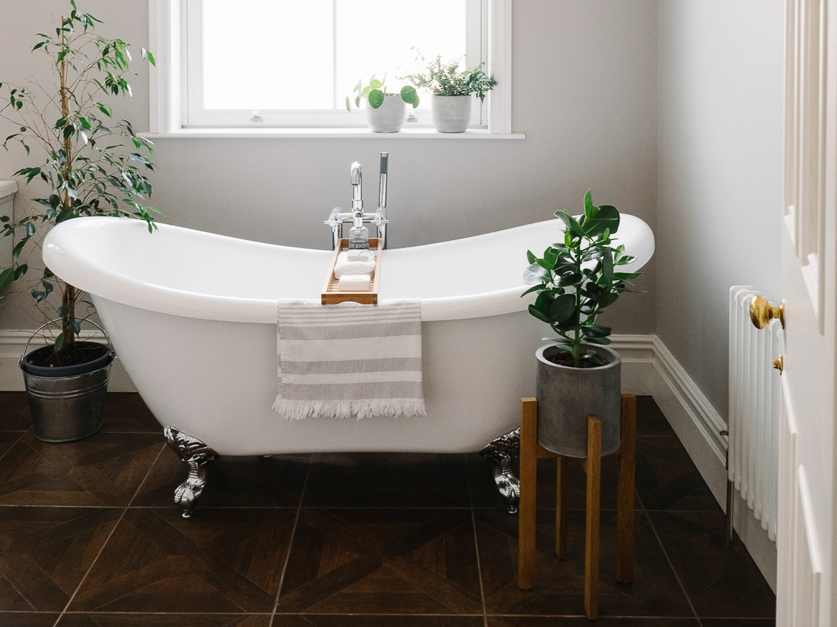 How To Achieve The Hotel Bathroom Look In Your Own Home   Freestanding Bath  ...