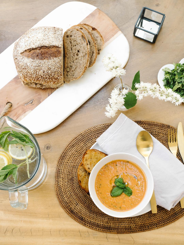 My favourite summer lunch recipe: Gazpacho soup