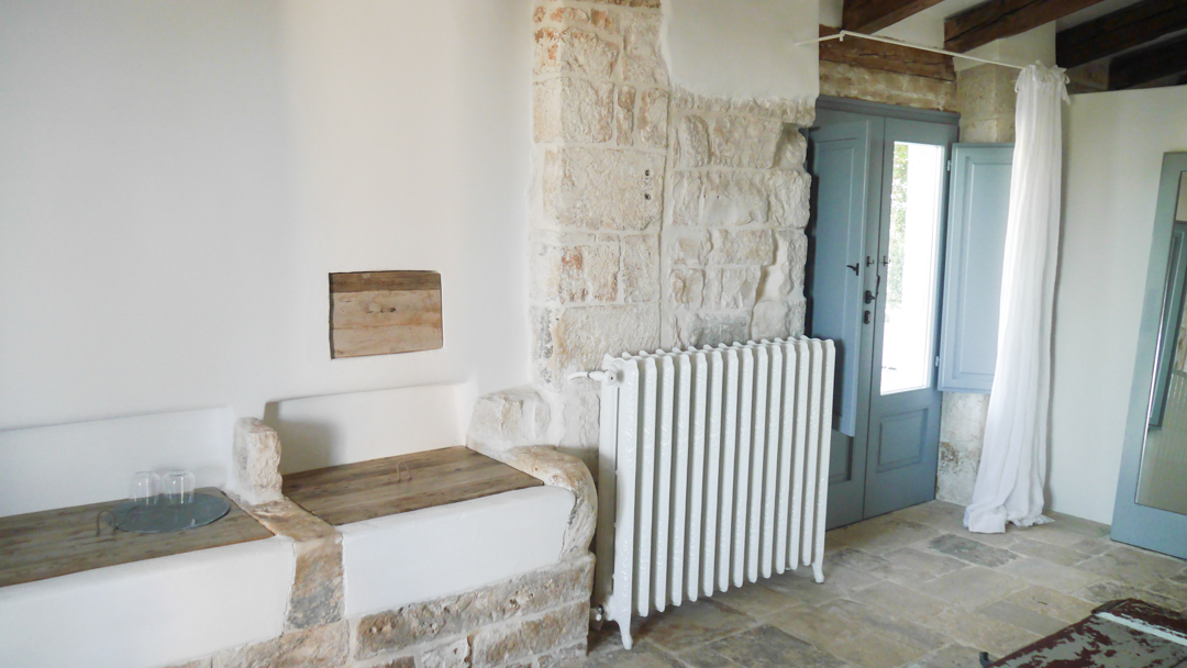 Nina Trulli - luxury hotel for modern rustic interior lovers