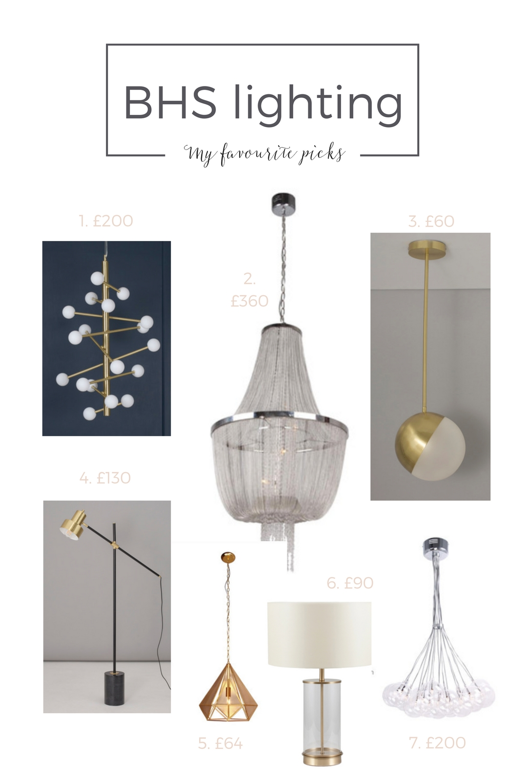 BHS lighting is back! And you won't believe how good it is…