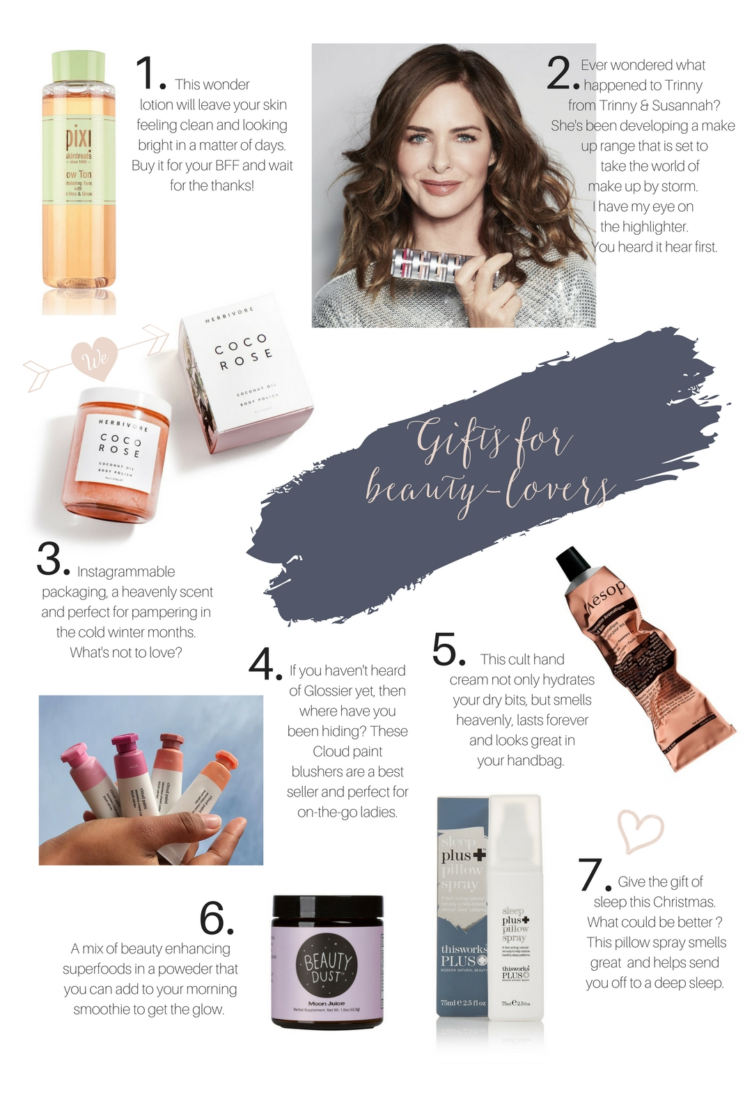 Christmas gift ideas for beauty lovers