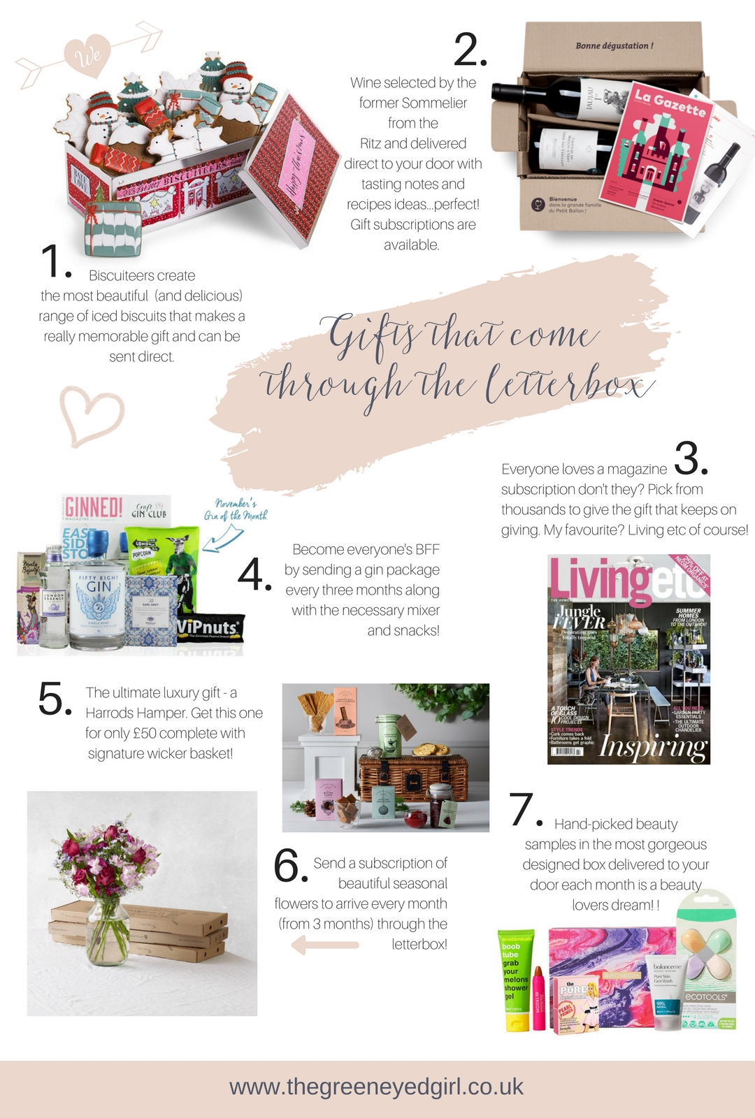 Christmas gift ideas to send through the post - The green eyed girl