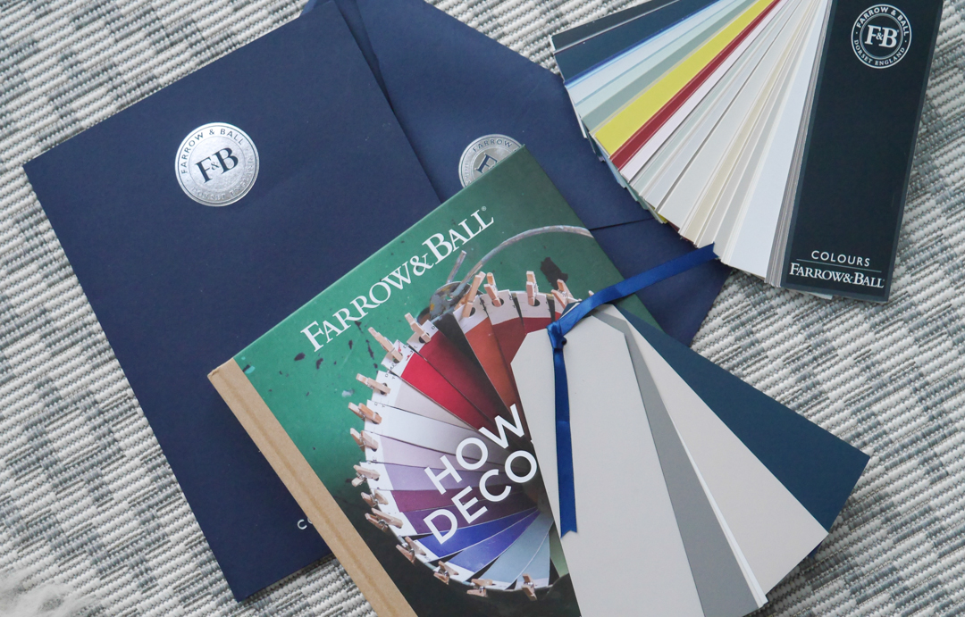 Choosing the right paint colour with with Farrow and Ball colour consultancy