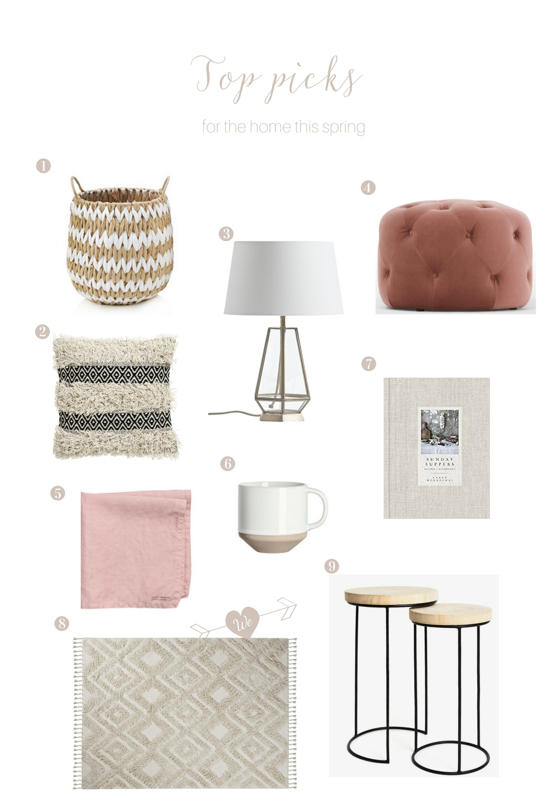 My top picks for the home this spring
