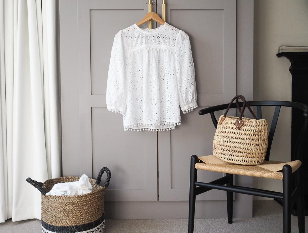 Pretty white tops for summer