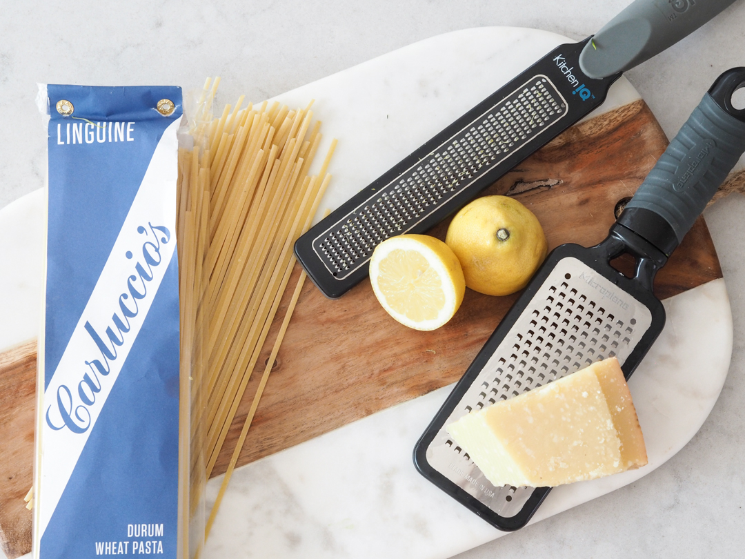 Courgette and ricotta pasta