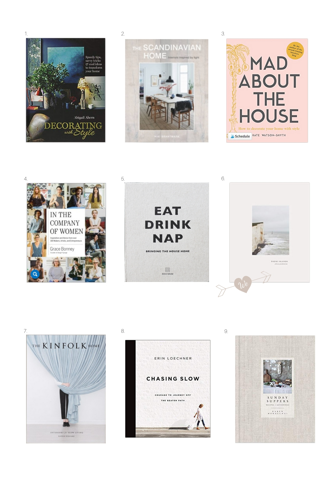 9 of the best coffee table books