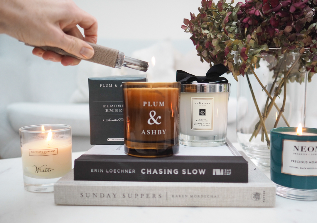 The perfect winter candles