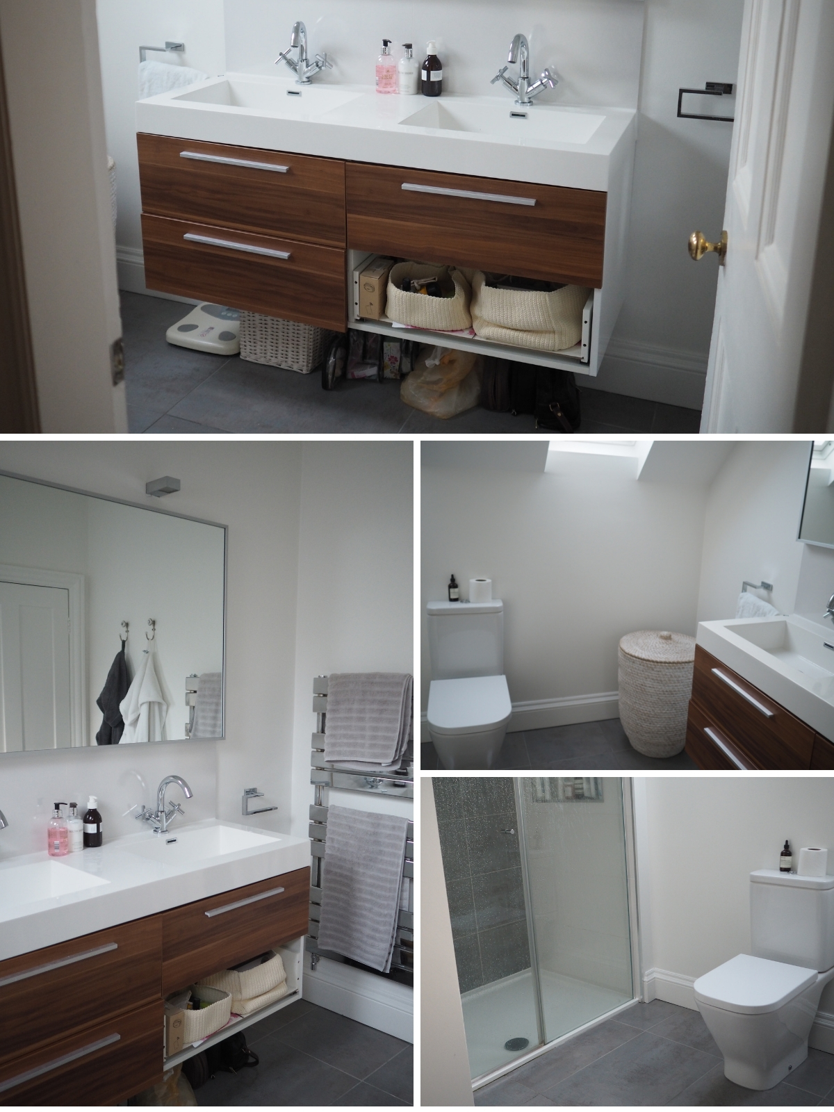 Ensuite bathroom refresh plans