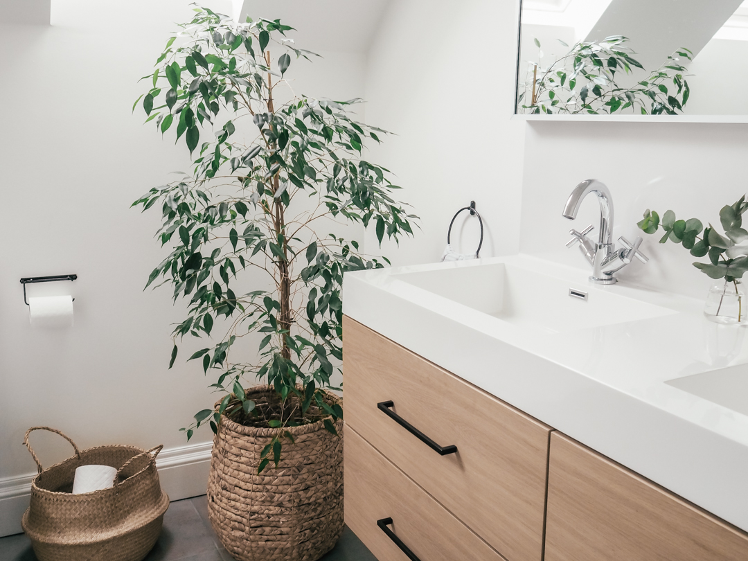 The reveal of our updated ensuite bathroom