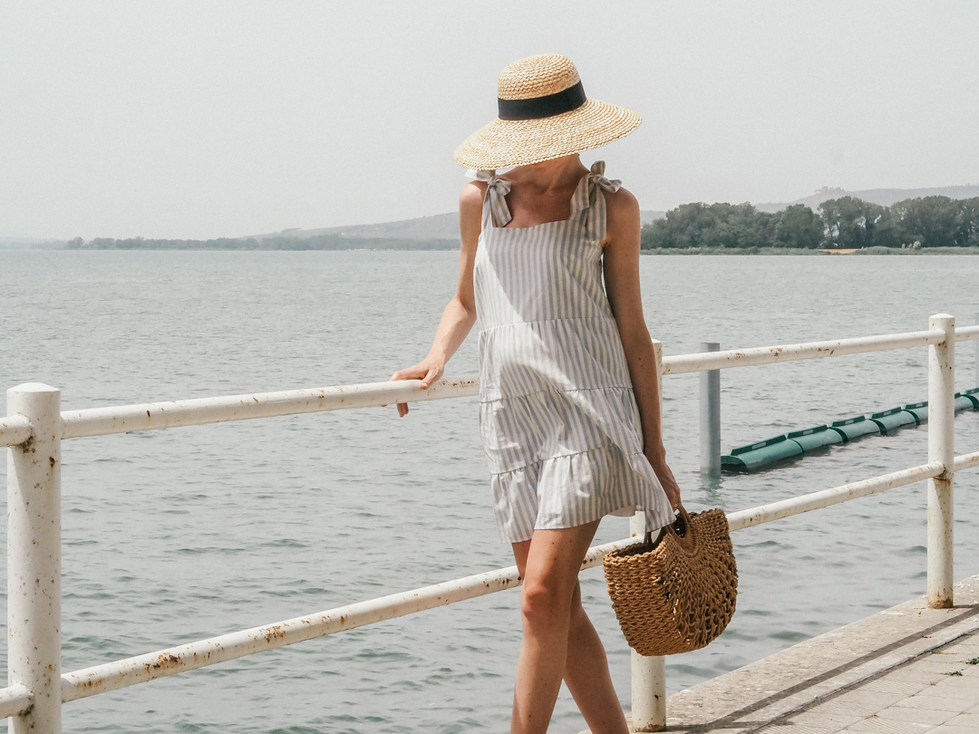 Sezane summer dress