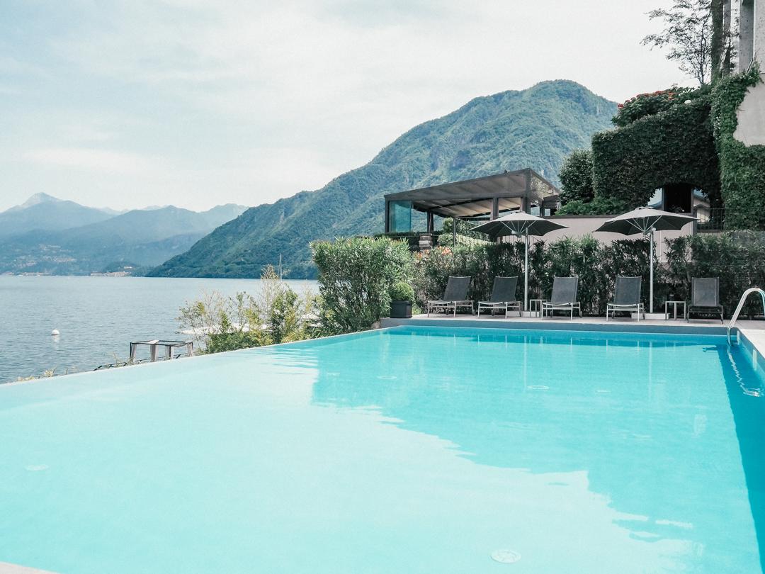 The pool at Hotel Filario