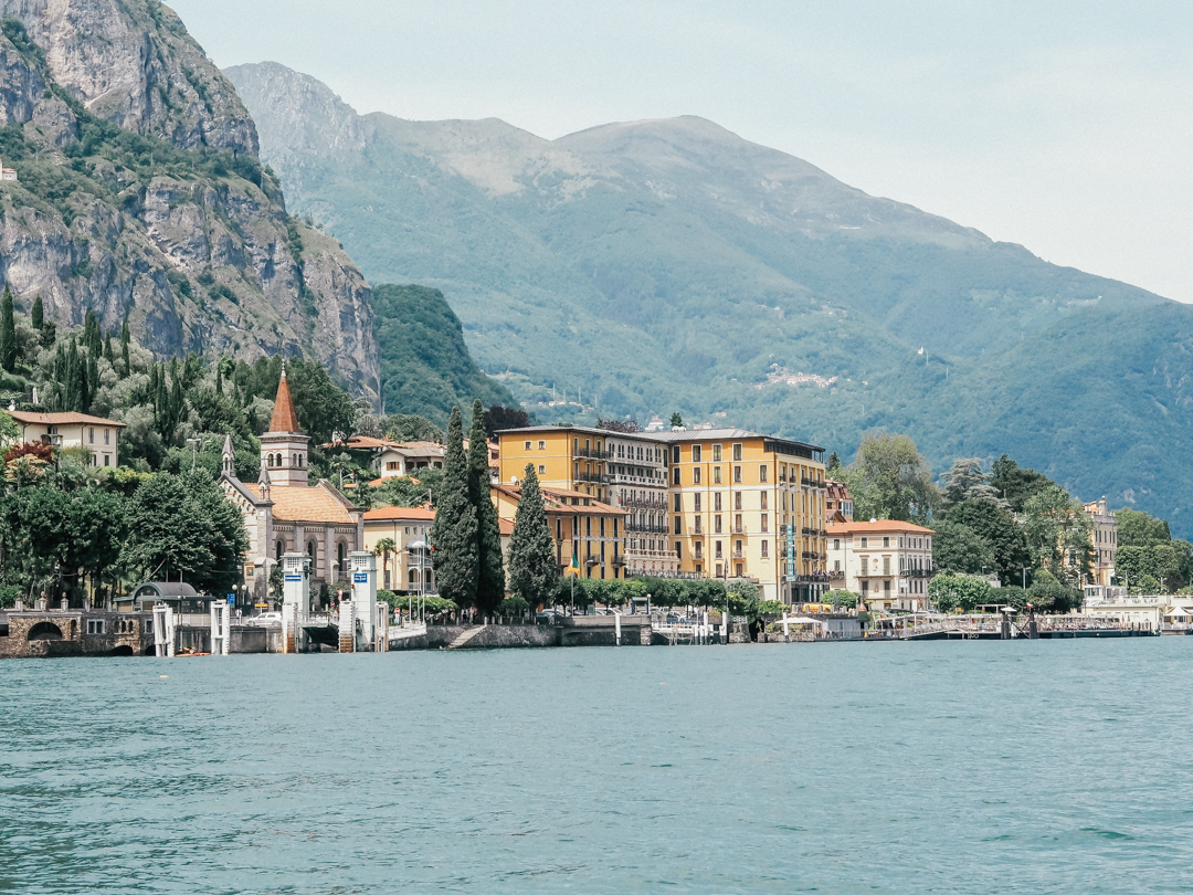 Lake Como from the Water